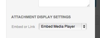 embed-setting