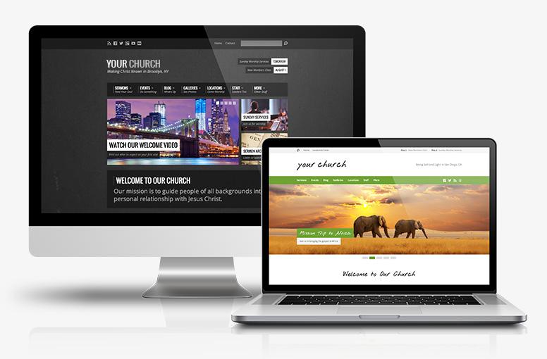 Resurrect and Exodus Church WordPress Themes