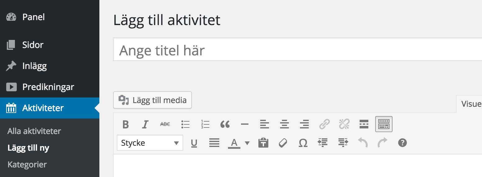 Swedish Translation