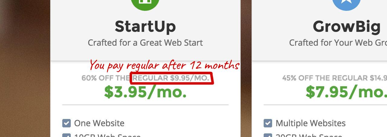 Web Hosting Price Hikes