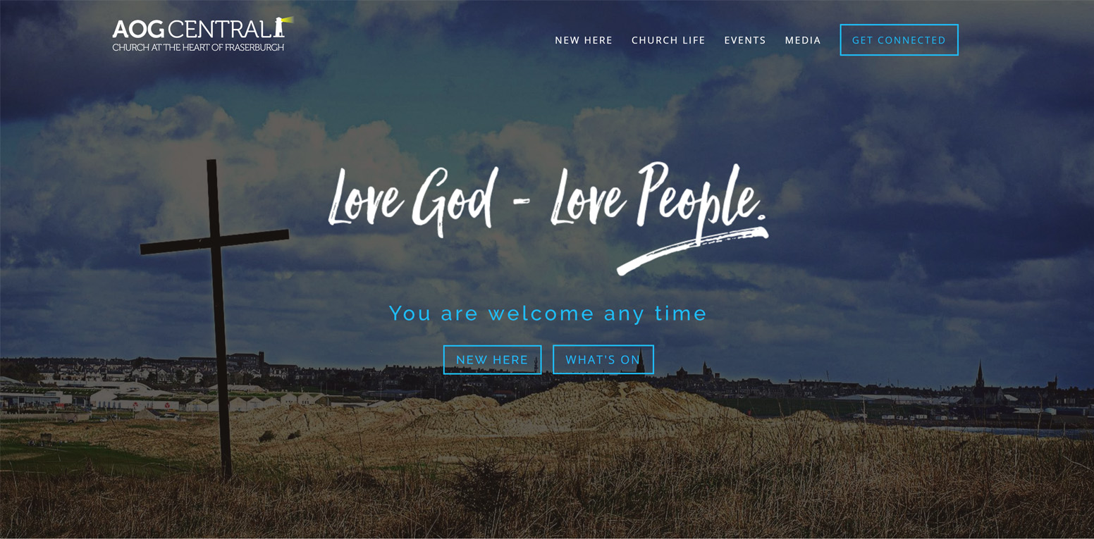 AOG Central Church Website
