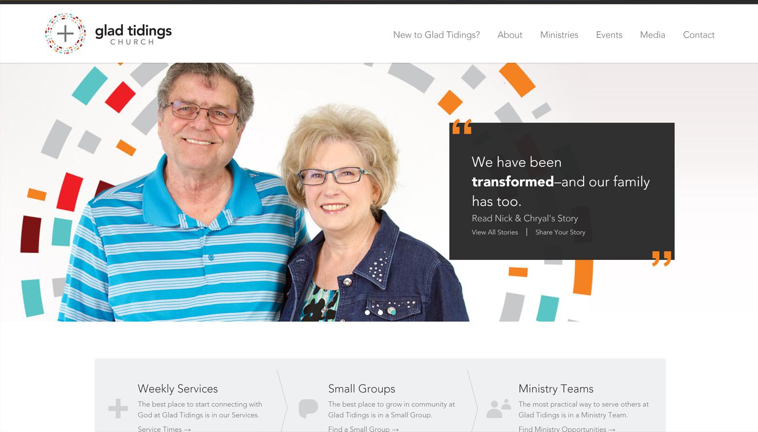 Glad Tidings Church Website