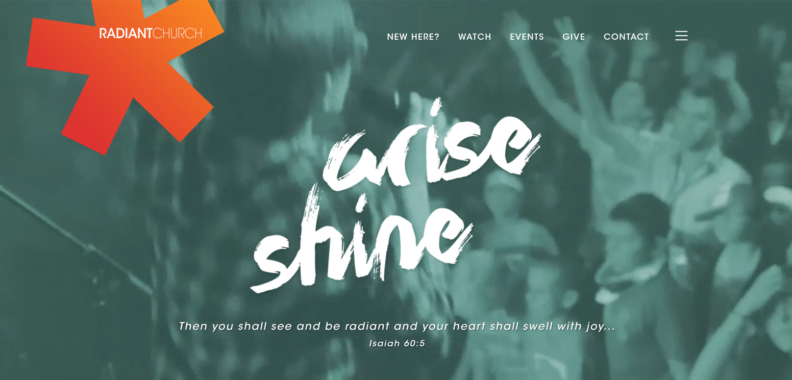 Radiant Church's Website