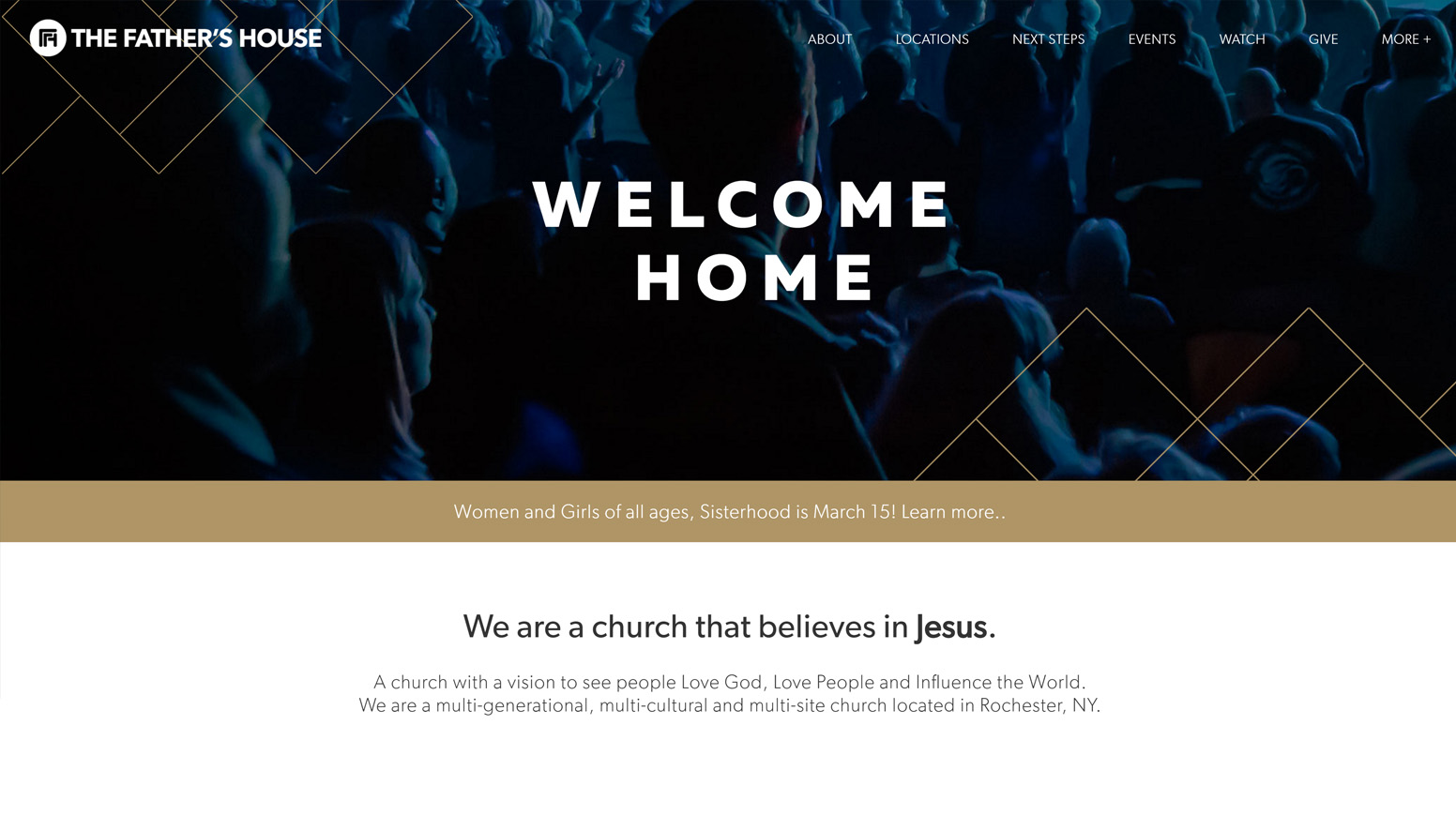 The Father's House - Church Website