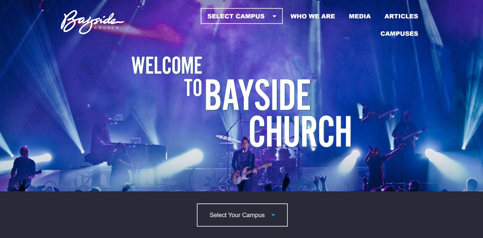 Bayside Church's Website
