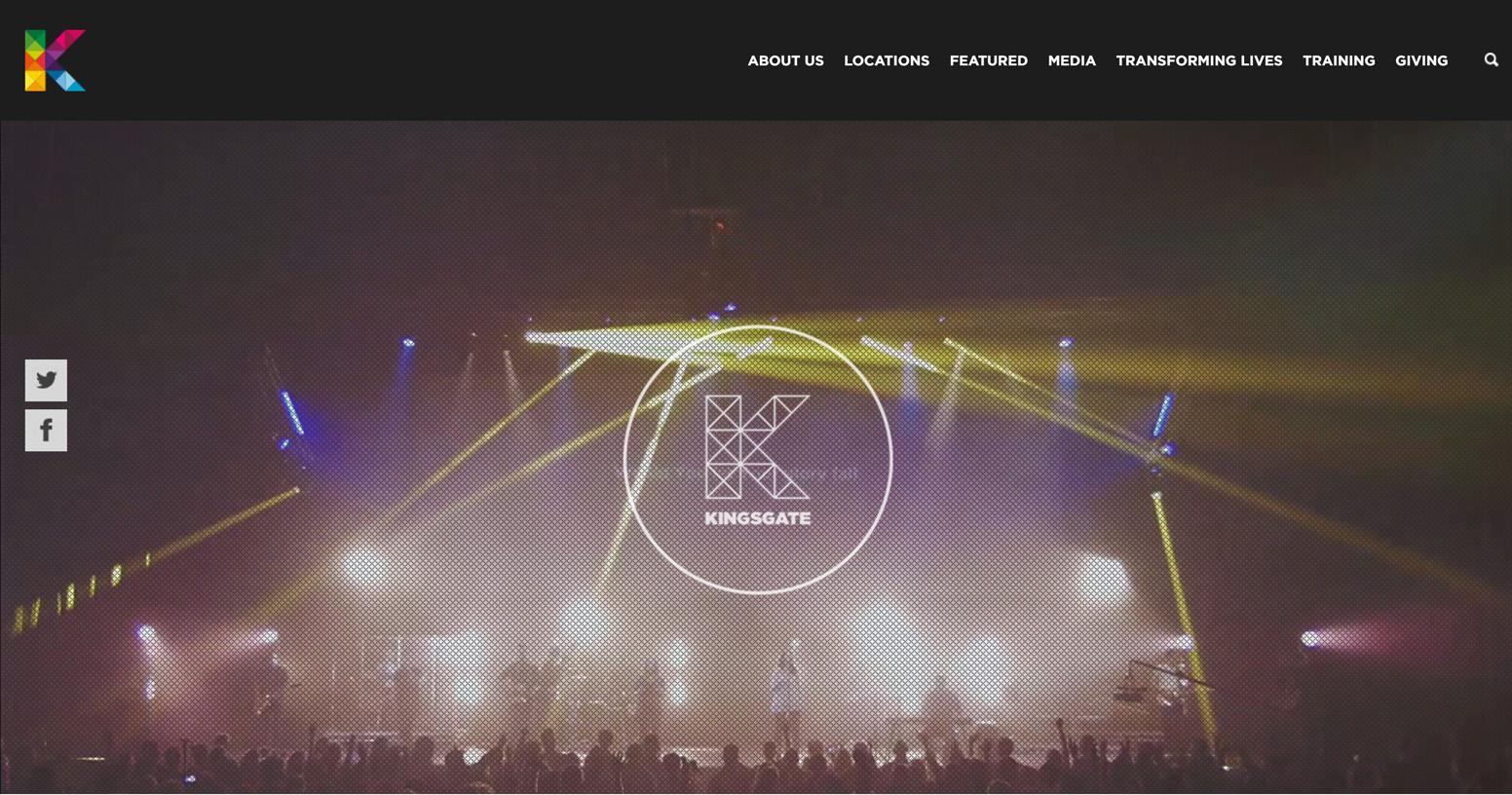 Kingsgate Church Website