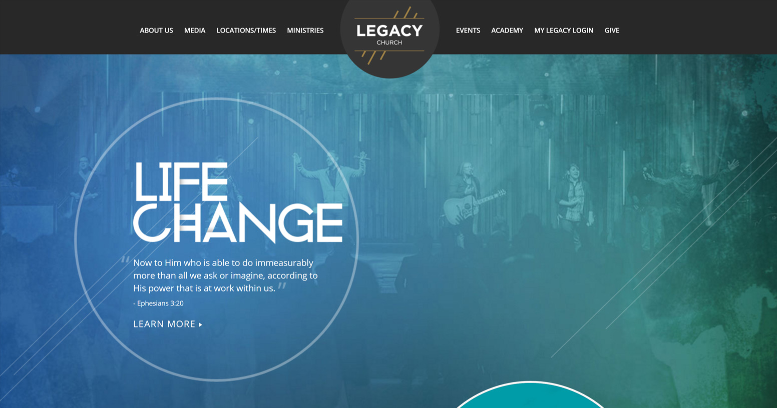 Legacy Church's Website
