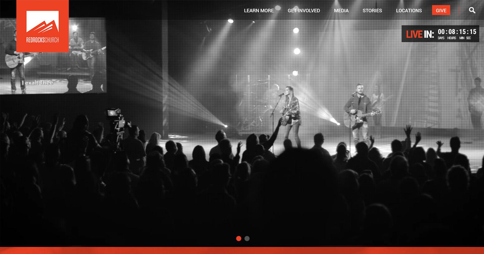Red Rocks Church Website