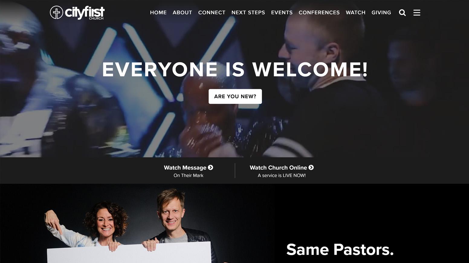 City First Church Website