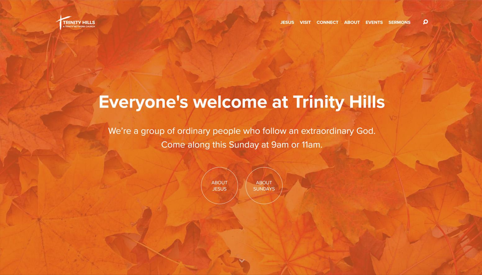 Trinity Hills Church Website