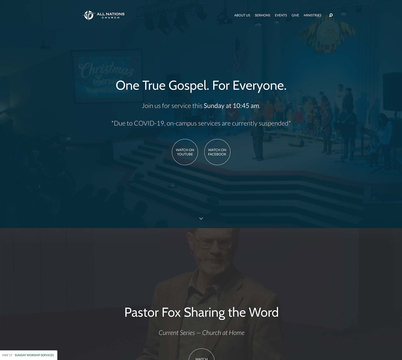All Nations Church Website
