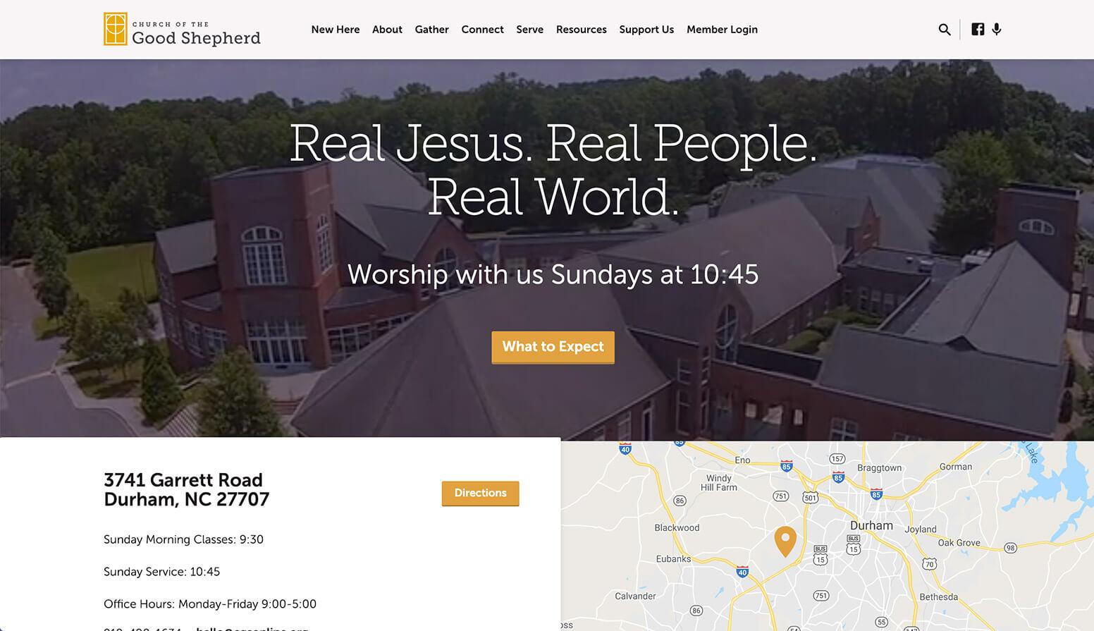 Church of the Good Shepherd Website