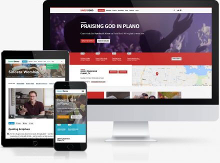 Saved Church WordPress Theme