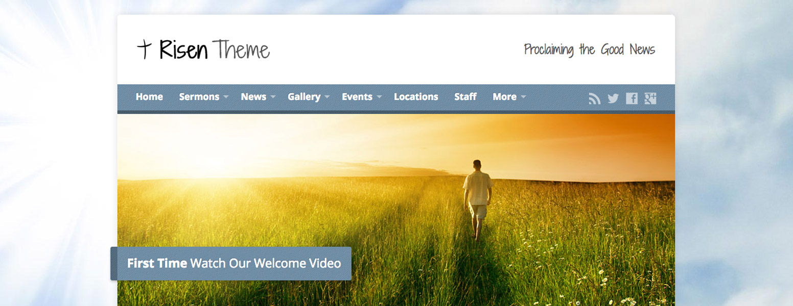 Risen Church WordPress Theme Migration